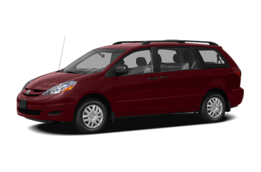 side view of 2008 Sienna Toyota