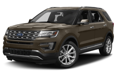 side view of 2016 Explorer Ford