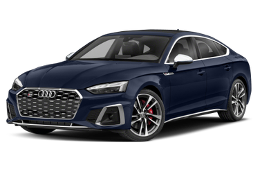 side view of 2020 S5 Audi
