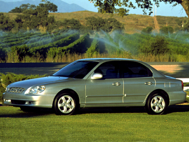 side view of 1999 Sonata Hyundai