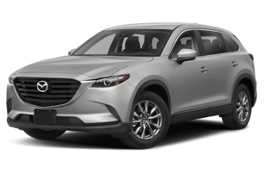 side view of 2019 CX-9 Mazda