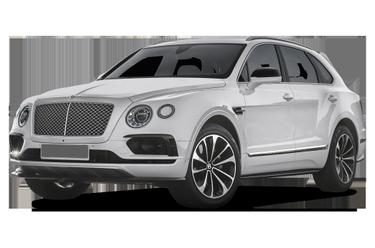 side view of 2018 Bentayga Bentley