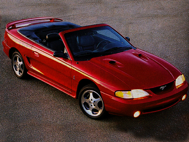 side view of 1997 Mustang Ford