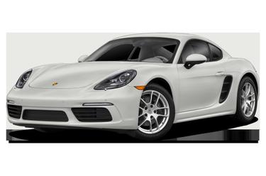 side view of 2018 718 Cayman Porsche