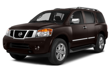 side view of 2015 Armada Nissan