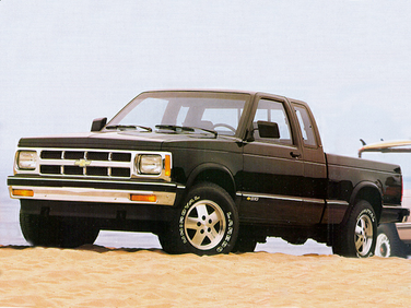 side view of 1992 S-10 Chevrolet
