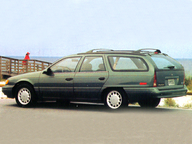 side view of 1995 Taurus Ford