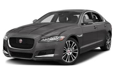 side view of 2017 XF Jaguar