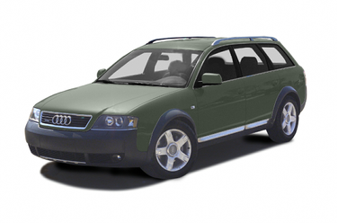 side view of 2003 allroad Audi