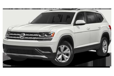 side view of 2020 Atlas Volkswagen