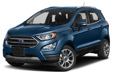 side view of 2021 EcoSport Ford
