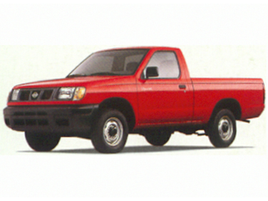 side view of 1998 Frontier Nissan