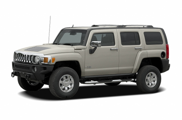 side view of 2007 H3 Hummer