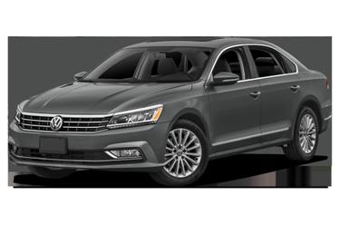side view of 2016 Passat Volkswagen