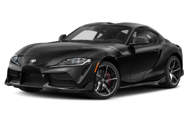 side view of 2021 Supra Toyota