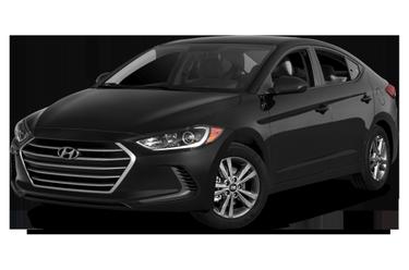 side view of 2017 Elantra Hyundai