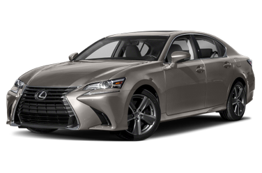 side view of 2018 GS 300 Lexus
