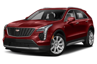 side view of 2020 XT4 Cadillac