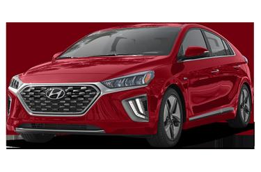 side view of 2020 Ioniq Hybrid Hyundai