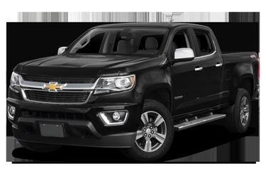 side view of 2016 Colorado Chevrolet
