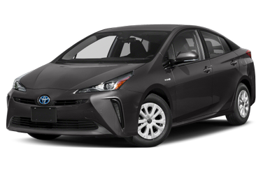 side view of 2020 Prius Toyota