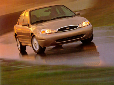 side view of 1998 Contour Ford
