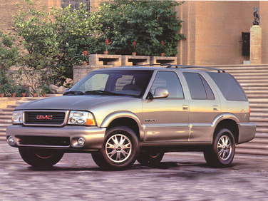 side view of 1998 Envoy GMC