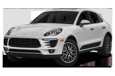 side view of 2018 Macan Porsche