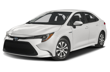 side view of 2020 Corolla Hybrid Toyota