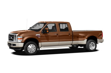 side view of 2008 F-450 Ford