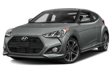 side view of 2017 Veloster Hyundai