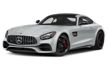 side view of 2020 AMG GT Mercedes-Benz