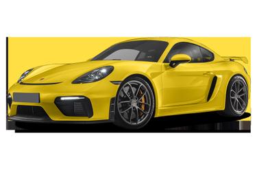 side view of 2021 718 Cayman Porsche