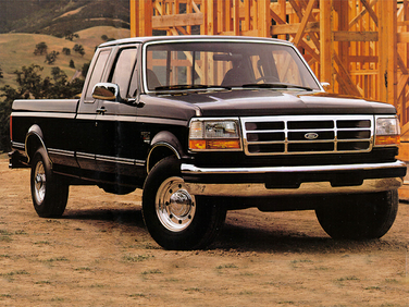 side view of 1995 F-250 Ford