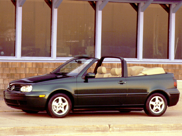 1999 Volkswagen New Cabrio