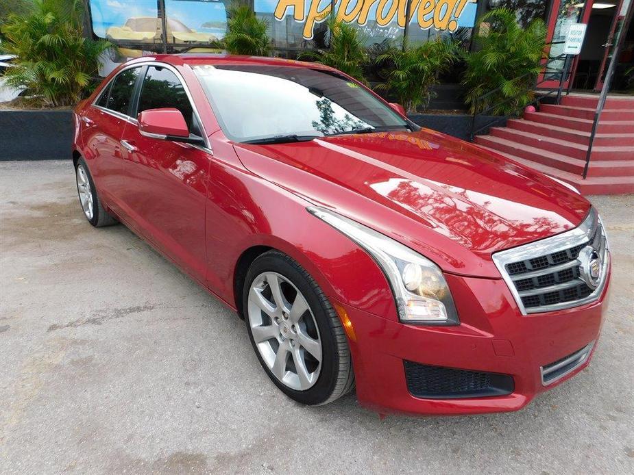 used 2013 Cadillac ATS car, priced at $11,995