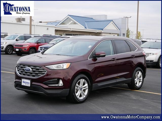 used 2020 Ford Edge car, priced at $31,999
