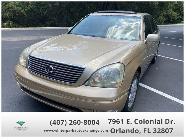 used 2003 Lexus LS 430 car, priced at $9,988