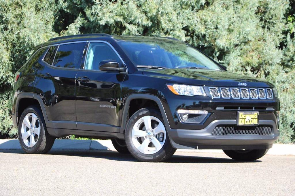 used 2018 Jeep Compass car, priced at $24,878