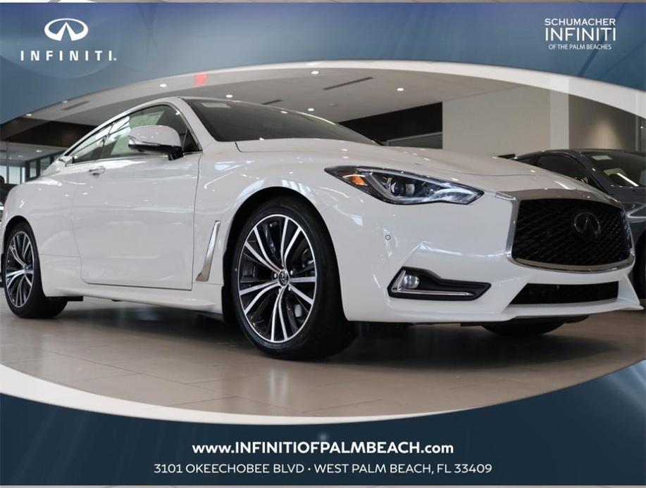 new 2021 INFINITI Q60 car, priced at $52,055