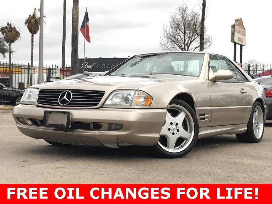 used 2000 Mercedes-Benz SL-Class car, priced at $12,990