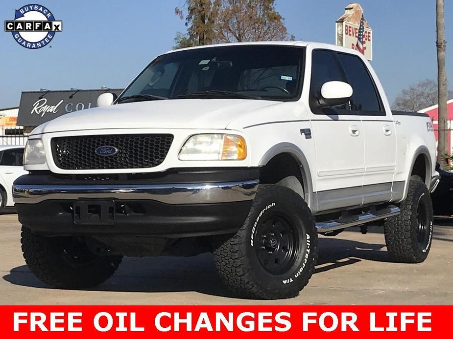used 2002 Ford F-150 car, priced at $14,990