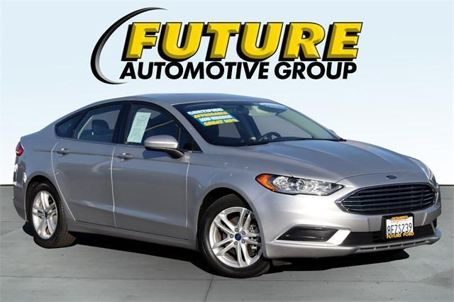 used 2018 Ford Fusion car, priced at $25,988