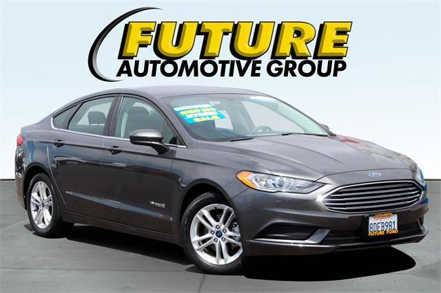 used 2018 Ford Fusion Hybrid car, priced at $24,988