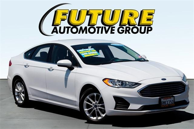 used 2019 Ford Fusion car, priced at $25,988