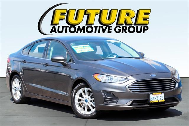 used 2019 Ford Fusion car, priced at $23,988