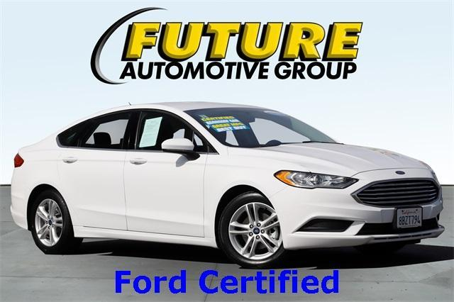 used 2018 Ford Fusion car, priced at $21,988