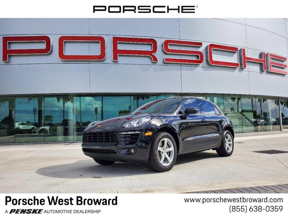 used 2018 Porsche Macan car, priced at $41,995
