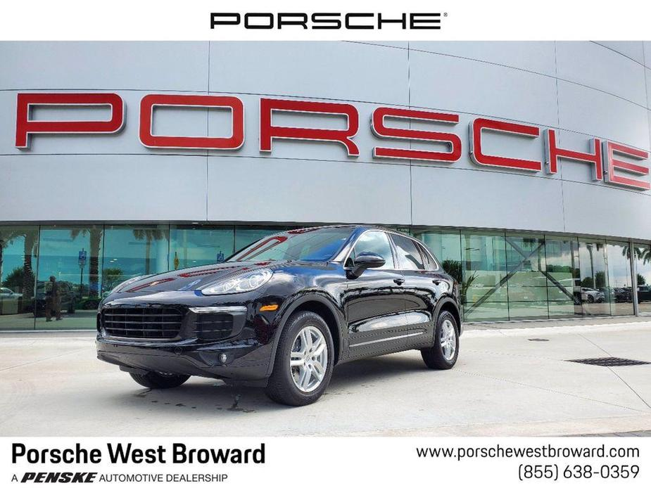 used 2018 Porsche Cayenne car, priced at $54,595