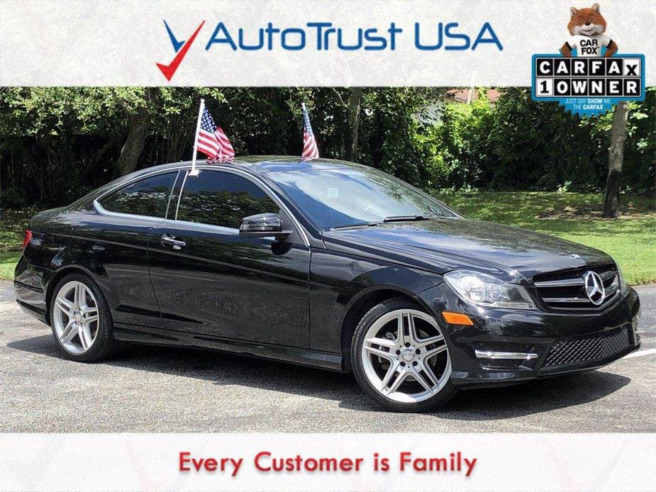 used 2014 Mercedes-Benz C-Class car, priced at $15,999
